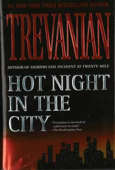 Hot Night in the City by Trevanian - St Martin's Press edition cover